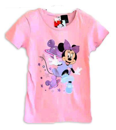 "SETINO Dekliška majica ""Minnie Mouse"" - svetlo roza - 110 / 4–5 let"