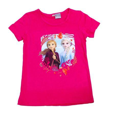 "SETINO Dekliška majica ""Frozen 2 "" - temno roza - 104 / 3–4 leta"