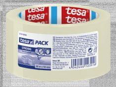 Tesa tesa®Balicí páska STRONG, PP, akrylát, nehlučná, průhledná, 66m:50mm, 6pack