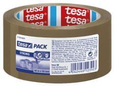 Tesa tesa®Balicí páska STRONG, PP, akrylát, nehlučná, hnědá, 66m:50mm, 6pack