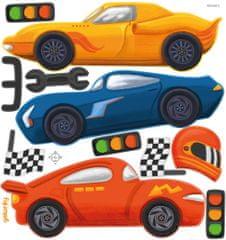 GEKONKY Závodní auta 1