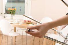 Tesa tesa® PROTECT, Plstěná samolepící podložka, obdélník, bílá, 100mm:80mm