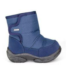 Oldcom Dětské Zimní Boty LILO Navy Barva: Modrá, Velikost: 23
