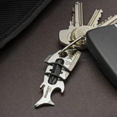 True Utility Sharkey privjesak za ključeve, mini džepni alat