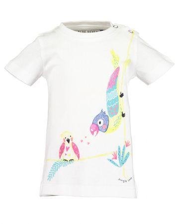 Blue Seven 901095 X majica za djevojčice, 80, bijela