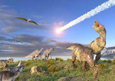 mapcards.net 3D pohľadnica End of dinosaurus (Natural History)