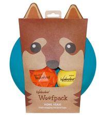 Waboba Woofpack lopta za pse, različite boje, 3 kom