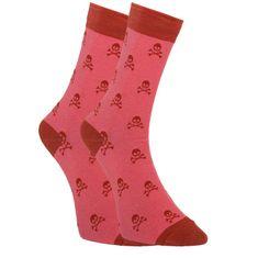 Dots Socks Veselé ponožky lebky (DTS-SX-413-R)