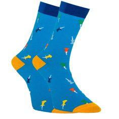 Dots Socks Veselé ponožky kytary (DTS-SX-427-N)