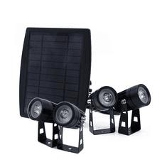 Solarcentre Solárne bodové osvetlenie Solarcentre Atlas 4ks 200 lumenov teplá biela