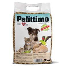 COBBYS PET PELITTIMO 3kg / 6l granulált alom fából