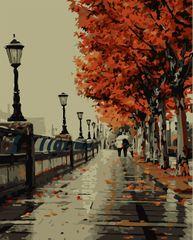 Kouzelný Art Malování podle čísel Město