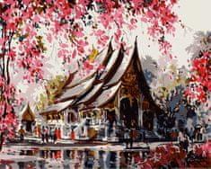 Kouzelný Art  Malování podle čísel Jaro v růžovém