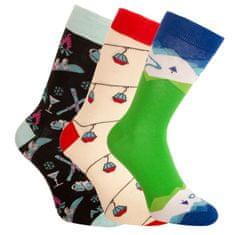 Bellinda 3PACK ponožky crazy vícebarevné (1004-305 B)