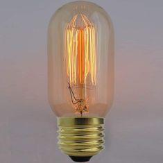 Diolamp EDISON Retro Carbon Filament žárovka T45 E27 40W
