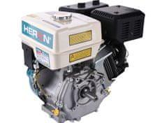 Heron Motor 4-takt, 389ccm, 13HP/4000ot.min, pal. nádrž 6,5l, výfuk, vzduch. filter, ručné štartovanie