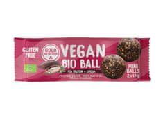 GoldNutrition Vegan Bio Ball 2 x 17 g hrachový protein a kakao