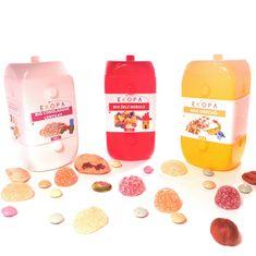 EKOPA Balíček dobrého mlsání (Exkluzivní mix ořechů + Bio lentilky + Bio želé bobule)