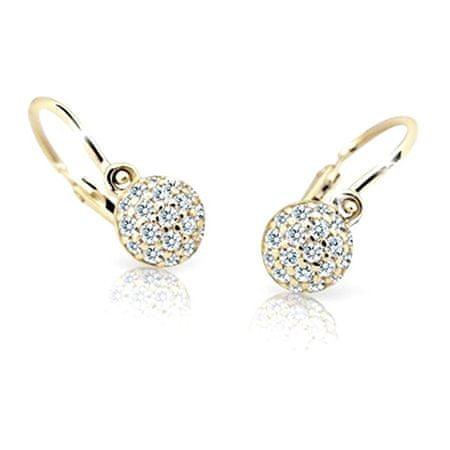 Cutie Jewellery Gyermek fülbevaló C2150-10-X-1 (szín lila)
