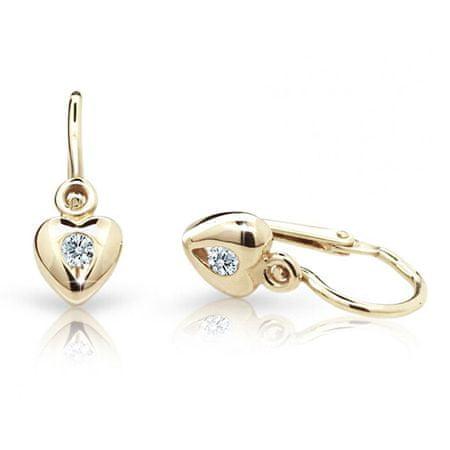 Cutie Jewellery Gyermek fülbevaló C1556-10-X-1 (szín kék)