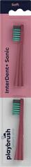 Playbrush Playbrush Smart One zamjenski nastavak za elektr. četkicu za zube, koraljno crvena, 2 kom