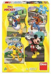 DINO Mickey u gradu slagalica, 4x 54 dijelova