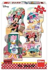DINO Minnie a Daisy v lete puzzle 4x54 dielikov