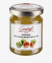 Grashoff  Omáčka ze zelených fíků a hořčičných semínek, sklo, 125ml