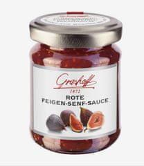 Grashoff Omáčka z červených fíků a hořčičných semínek, sklo, 125ml
