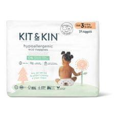 Kit & Kin eko plienky, veľkosť 3 (34 ks), 6-10 kg
