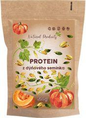 Natural Products Protein z dýňového semínka – 500g