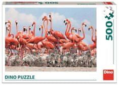 DINO Flamingo slagalica, 500 dijelova