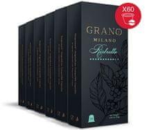 Grano Milano Káva RISTRETTO 6x10 kapsúle