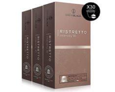 BrewBlack Káva RISTRETTO 3x10 kapsúle