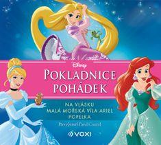 kolektiv: Pokladnice pohádek Disney - Na vlásku, Malá mořská víla Ariel, Popelka - CD