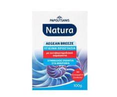NATURA Papoutsanis Řecké antibakteriální mýdlo EGEJSKÝ VÁNEK 100gr