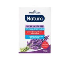 NATURA Papoutsanis Řecké antibakteriální mýdlo LEVANDULE 100gr