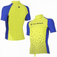 Aqua Sphere Chlapecké lycrové triko BIX žluto/modré