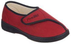 Podowell AMIRAL zdravotní domácí obuv unisex červená PodoWell Velikost: 36