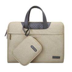 Cartinoe Lamando laptop táska 15.4'', bézs