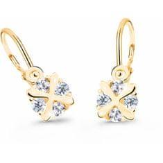 Cutie Jewellery Czułe dzieciKolczyki żółtego złota C2753-10-X-1
