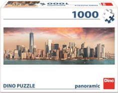 DINO slagalica Manhattan u mraku, panoramski, 1000 komada