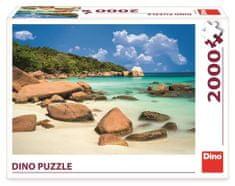 DINO Pláž puzzle 2000 dielikov