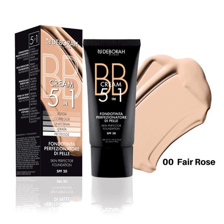 Deborah BB krema 5u1, 30 ml, 00 Fair Rose