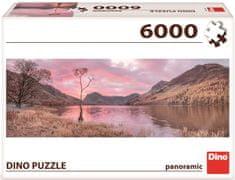 Dino sestavljanka Jezero v gorah, 6000 kosov - Odprta embalaža