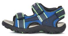 Geox chlapecké sandály JR SANDAL STRADA J1524A 014CE C4457