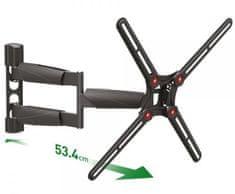 Barkan BM343LP zidni nosač za TV, dvostruka ruka, do 165 cm
