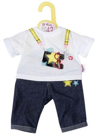Zapf Creation jeansy i koszulka dla lalki Dolly Moda, 43 cm