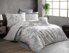 BedTex Obliečky Alegra 140x200/ 70x90 cm sivá