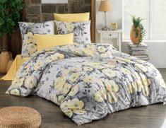 BedTex Obliečky Alisa 140x200 / 70x90 cm žltá